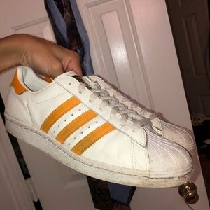 Adidas Classic Shelltoe Orange